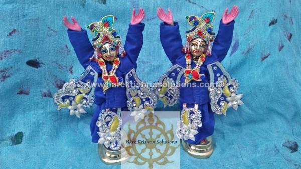 Gaura Nitai 6 inches-Blue (4)