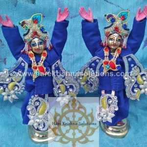 Gaura Nitai 6 inches-Blue (4)