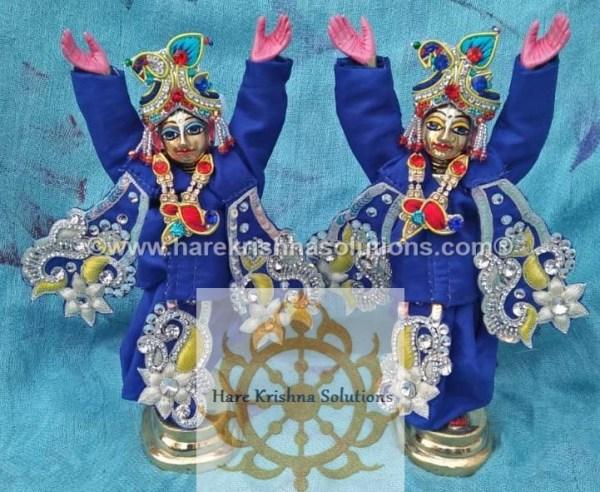 Gaura Nitai 6 inches-Blue (5)