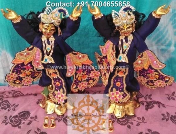 Gaura Nitai 12 inches Blue Dress (12)