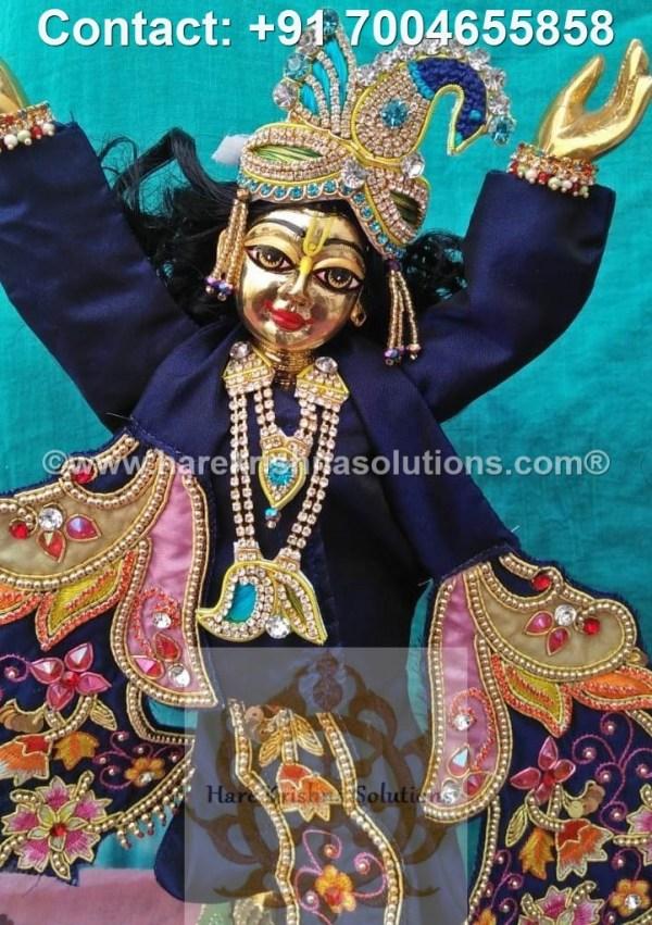 Gaura Nitai 12 inches Blue Dress (30)
