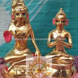 Shiva Parvati 6 inches (1)