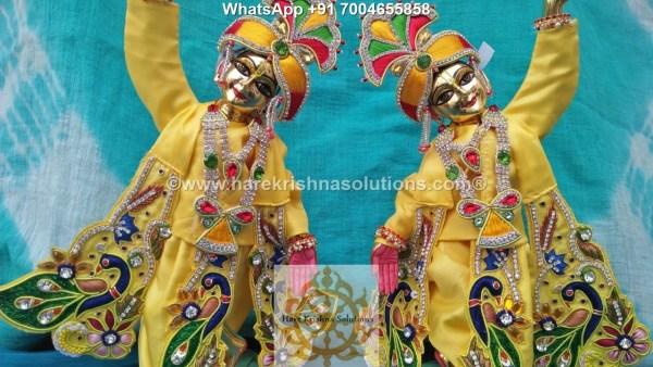 Gaura Nitai 12 inches Yellow 2