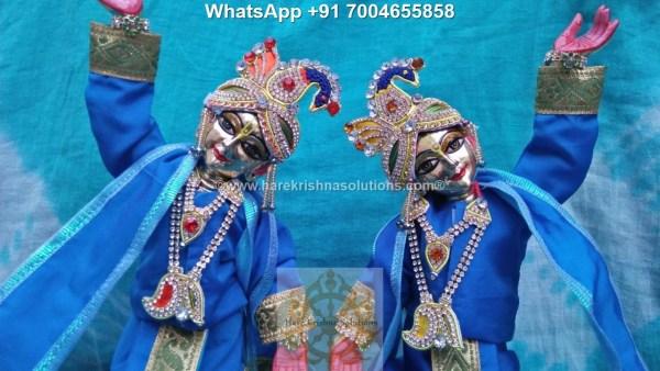 Gaura Nitai 12 inches Light Blue 1