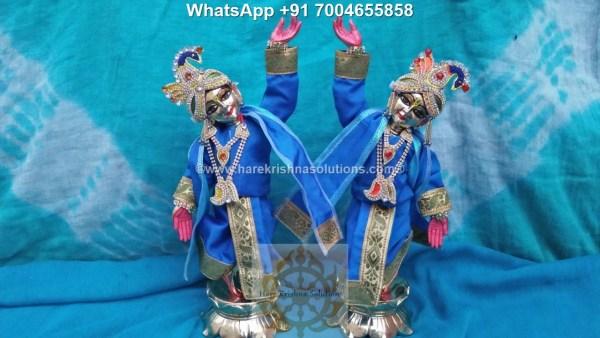 Gaura Nitai 12 inches Light Blue 4