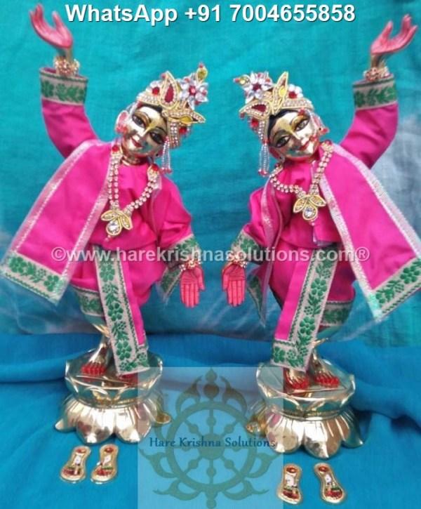 Gaura Nitai 12 inches Pink 6
