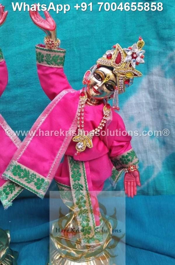 Gaura Nitai 12 inches Pink 8