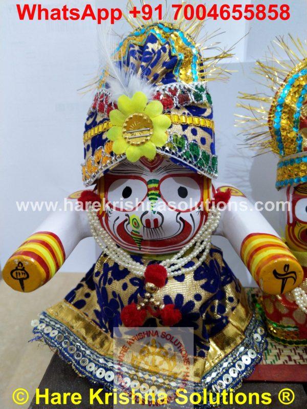 Jagannath Regular 6 inches with Accessories (6)