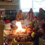 Three new initiations on Lord Balaram's App Day