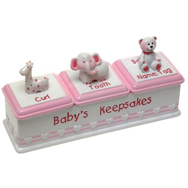 BABY GIRLS KEEPSAKE BOX Hares Amp Graces