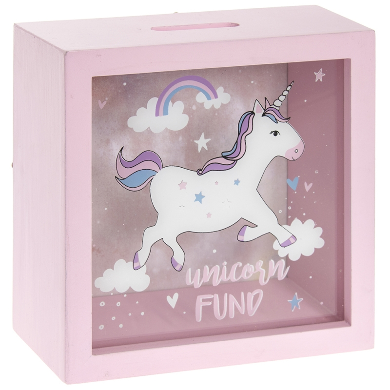 UNICORN FUND MONEY BOX Hares Amp Graces