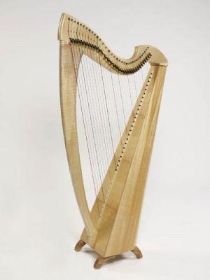 Harfa neoceltycka produkcji Ardival Harps