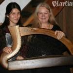Z Ann Heymann na Scoil na gCláirseach 2008