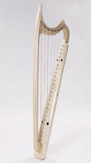 Harfa gotycka produkcji Ardival Harps