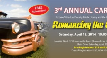 ROMANCING THE CHROME Harford County Public Library Foundation, Jarrettsville Lion's Club Host Third Annual Car Show