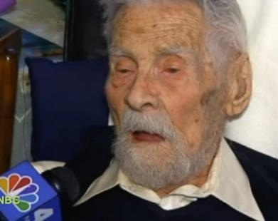 World's Oldest Man Says Secret to Longevity Is Good Diet and No Kids