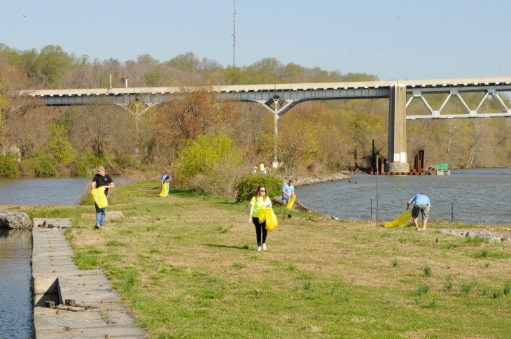 Last year, more than 1,000 volunteers donated their time during River Sweep.