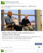 The Oriole faithful turn out to see Cal Ripken Jr. – Baltimore Sun
