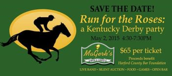 Harford County Bar Foundation Holds Kentucky Derby Party Fundraiser May 2