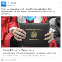 Harford County's Class of 2015
