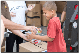 United Way of Central Maryland and UPS 'Deliver Hope' to Five Locations in Affected Baltimore City Areas