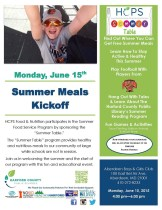 Summer Meals Kickoff Event – Fun for the entire family!