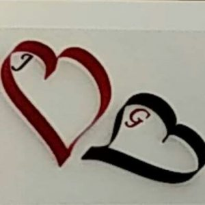 Two Hearts Art and Decor