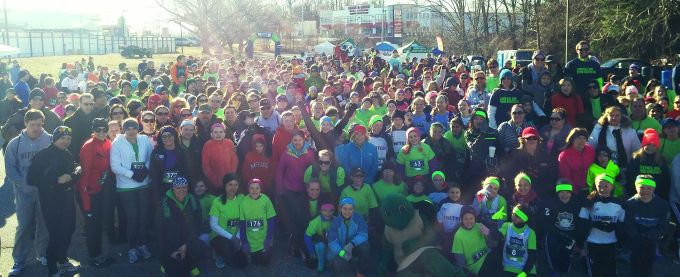 Runners at the start of the 2015 Annual Friends R Family Danyelle Filiaggi Memorial 5K. The 2016 race is one of the runs for charity happening in Harford County in April.