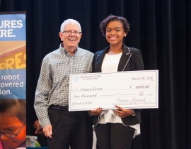 Havre de Grace High School Sophomore Named 2016 Youth of the Year for Boys & Girls Clubs Harford County