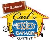 Carl's 3rd Annual Messiest Garage Contest Logo