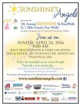 7th Annual Sunshine's Angels 5K Race