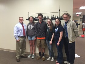 Four Fallston High School Students Earn Significant Awards for Their Work in German Class
