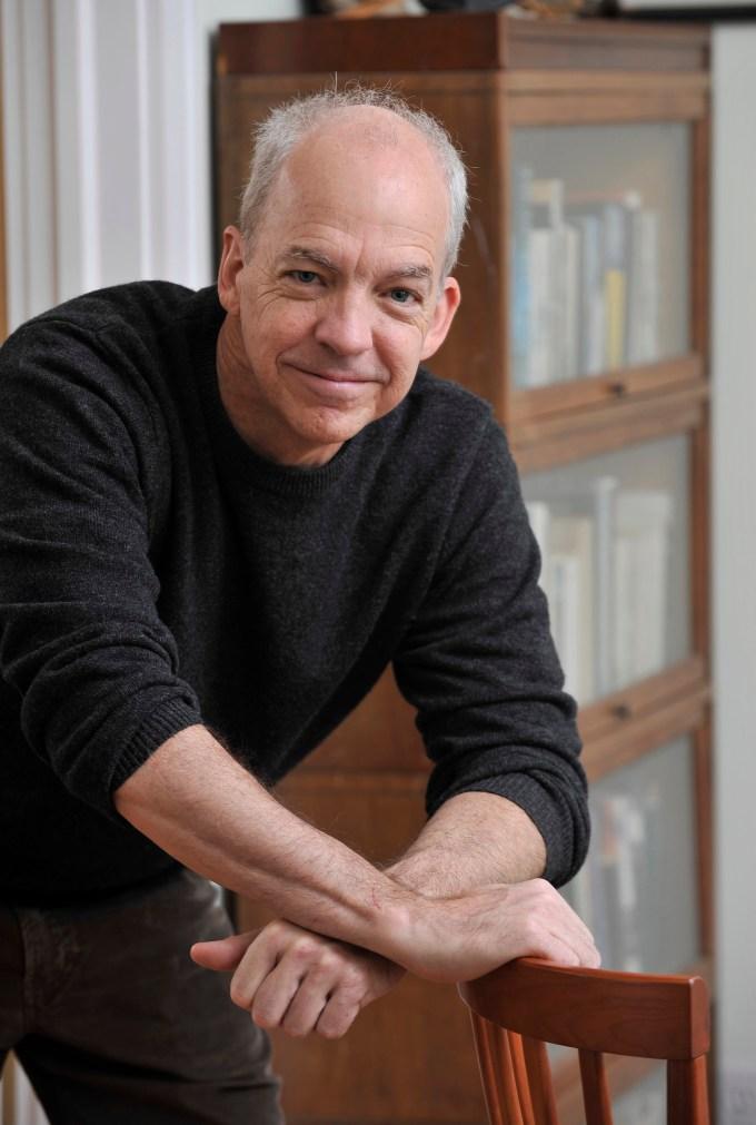 Towson, MD -- 4/18/12 -- sm-essay-dan-fesperman-p-fox --Writer Dan Fesperman   pictured in his home.  Lloyd Fox [Sun Photographer] #204