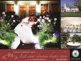 Free Wedding Expo October 29 at Harford County's Swan Harbor Farm