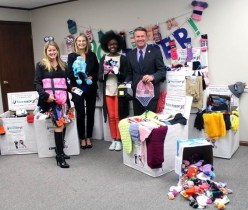 """Harford County's """"SOCKtober"""" Donation Drive Nets 3,500 Warm Socks, Hats & Gloves for Neighbors in Need this Winter"""