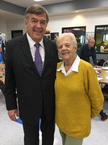 Congressman Ruppersberger with Vi Ripken, founding member of Boys & Girls Clubs of Harford County
