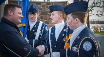 Re-dedication of The Tydings Park War Memorial in Photos