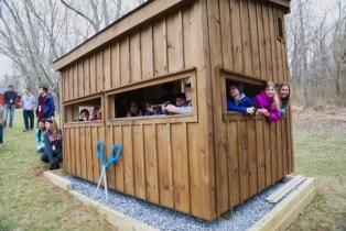 Harford Glen Environmental Center Celebrates New Bird Hide