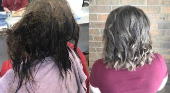Stylist Spends 13 Hours With Depressed Teen, Repairing Her Matted Hair For School Photos