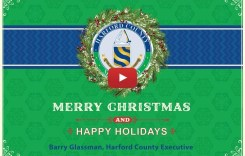 Holiday Greetings from Harford County Executive Barry Glassman