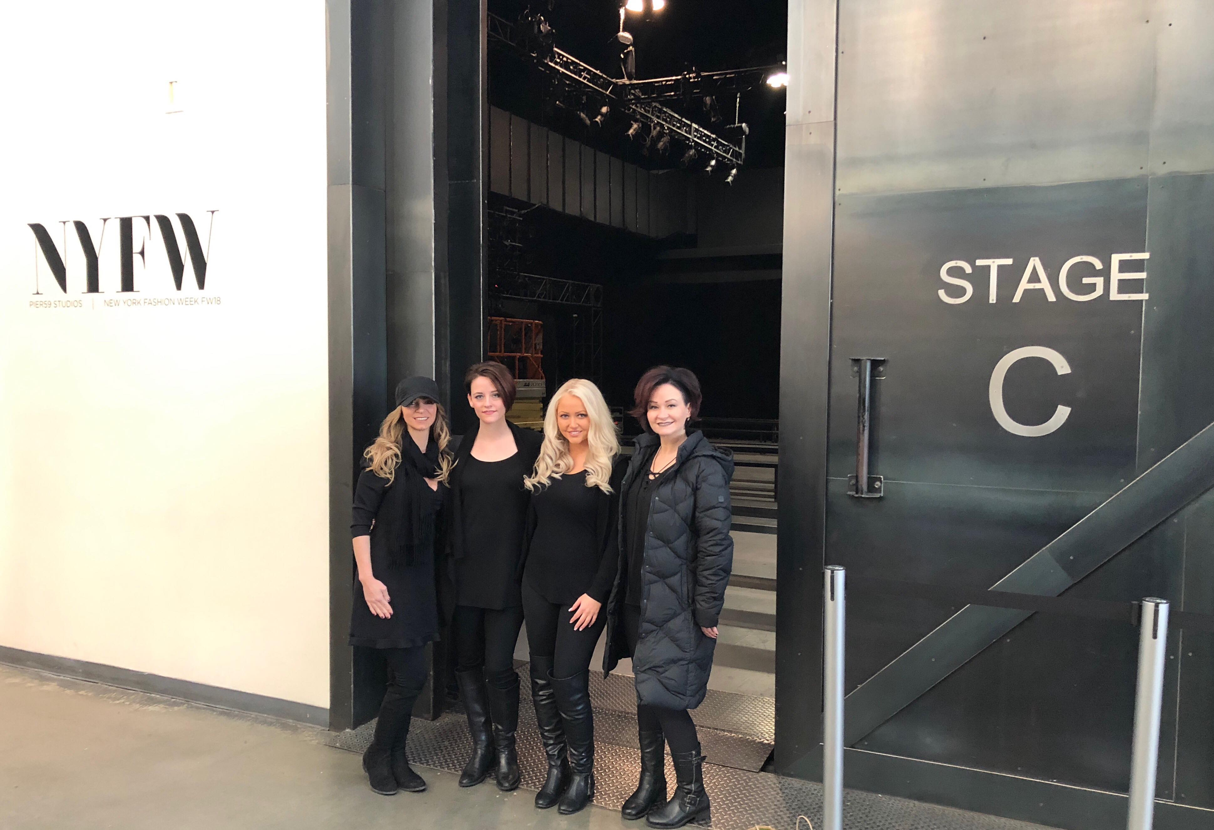 Salon Style New Yorkais bel air hair salon invited to style hair at new york fashion