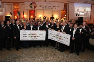 Society of Italian American Businessmen (SIAB) Donates $25,000 to Harford Family House and $25,000 to Extreme Family Outreach