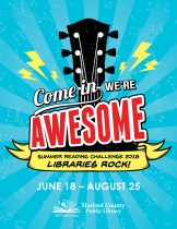 'Libraries Rock!' For Summer Reading