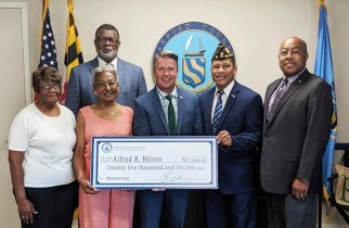 Harford County Contributes to Memorial Fund for Medal of Honor Recipient Sgt. Alfred. B. Hilton