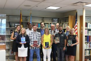 Harford County Public Library Receives Donation of Hugo Award Novels