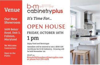 B+M Cabinetry Plus – Open House