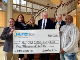 Young Barbers Club Wins Freedom Federal Credit Union's #FreedomToHelpChallenge