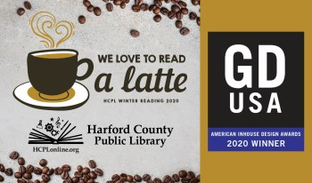 Harford County Public Library Wins Graphic Design USA Inhouse Design Award