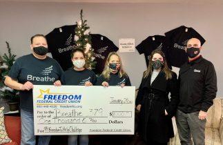 Breathe 379 Wins Freedom Federal Credit Union's #FreedomToHelpChallenge