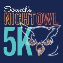 Screech's Night Owl 5K at Harford Community College